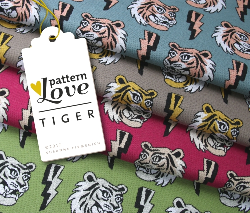 Pattern Love - Tiger