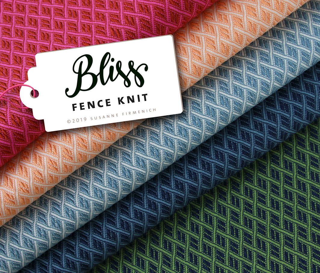 BLISS - FENCE KNIT