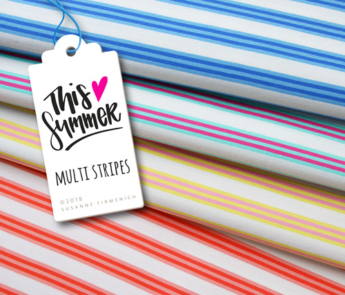 This Summer - Multi Stripes