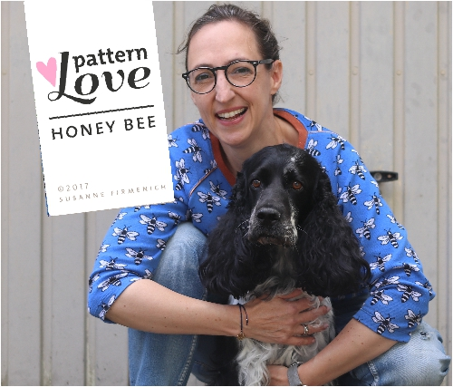 Pattern Love - Honey Bee
