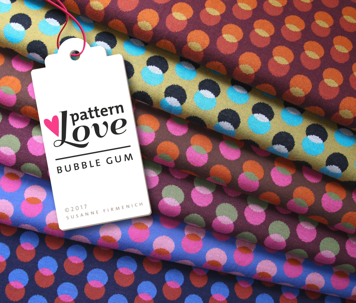 Pattern Love - Bubble Gum